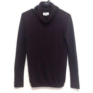 LOFT Ann Taylor Sweater Turtleneck Purple Small